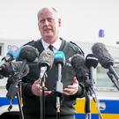 Police Service of Northern Ireland Chief Constable George Hamilton said the officer's body armour may have saved him from further harm