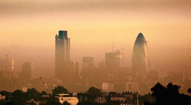 The cold, still air is causing a rise in air pollution in the capital and many other parts of the country