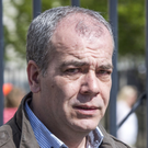 Colin Duffy (pictured) and Alex McCrory have been charged in connection with terrorism