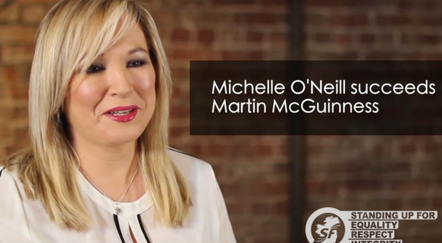 Michelle O'Neill gave her first interview as Sinn Fein's new Northern leader