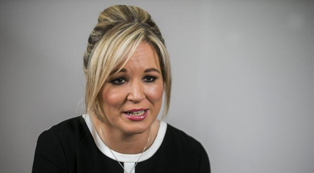 Michelle O'Neill said she was prepared to work with anybody who displayed respect and support for equality to restore the devolved government after the March 2 election