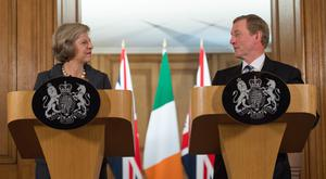 Theresa May has declined an invitation to make a historic address to the Irish parliament.