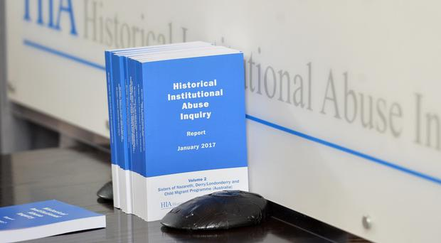 Sir Anthony Hart outlined the findings of his Historical Institutional Abuse inquiry in Northern Ireland