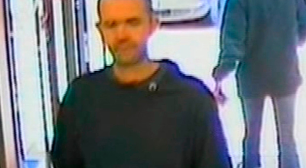 Gerard Conway at a bank in Cookstown a few weeks before his disappearance in February 2007