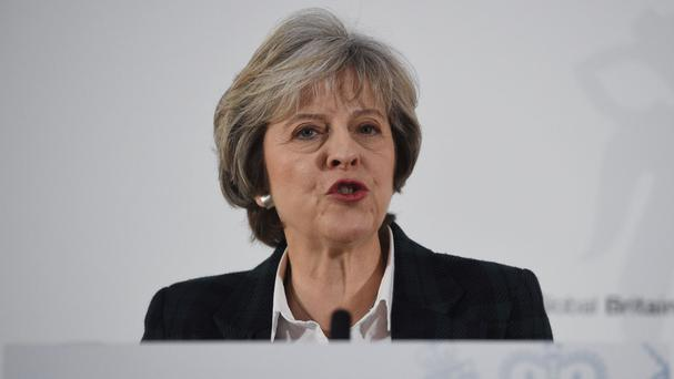 Theresa May said the UK's opposition to the use of torture has not changed