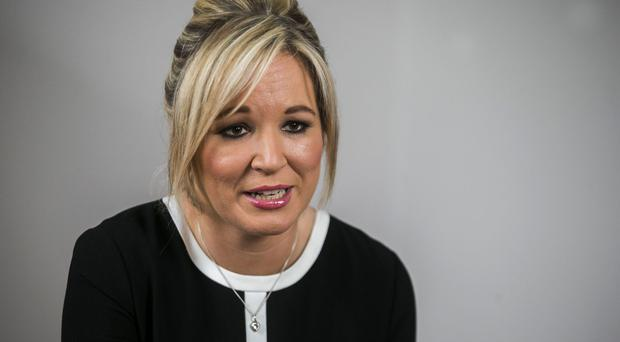 Michelle O'Neill was accused of