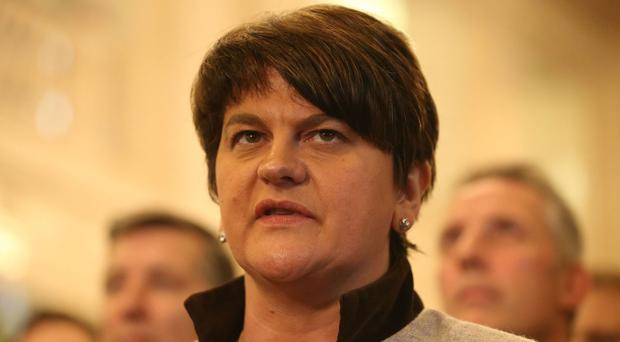 Arlene Foster cautioned against making judgments based on hearsay
