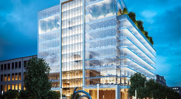 An artist's impression of the plans for One Bankmore Square