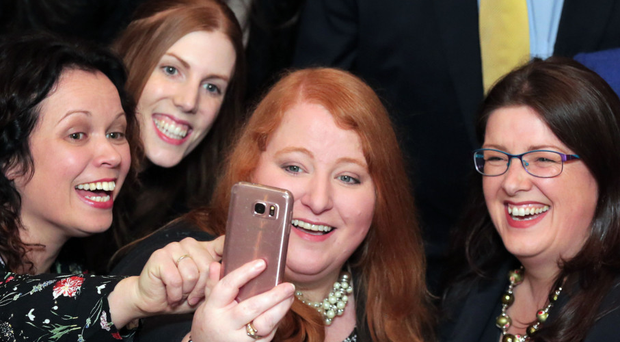 Alliance leader Naomi Long has the highest approval rating of any Northern Ireland leader with 52%.