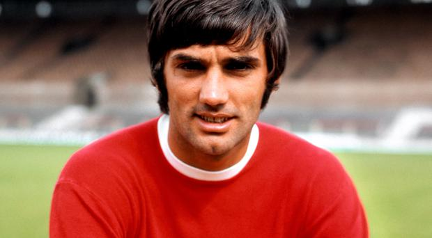 George Best during his Manchester United days