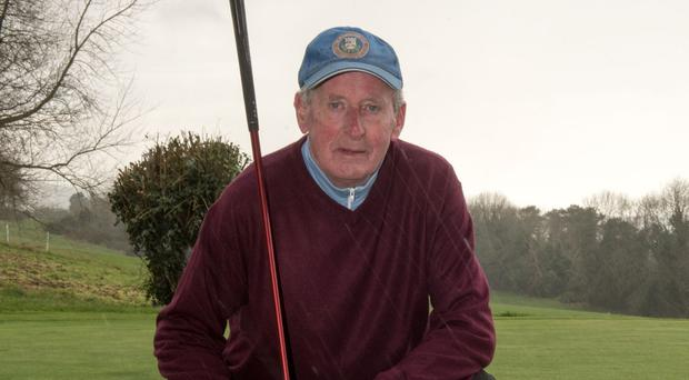 Bert Whoriskey is City of Derry Golf Club's oldest playing member
