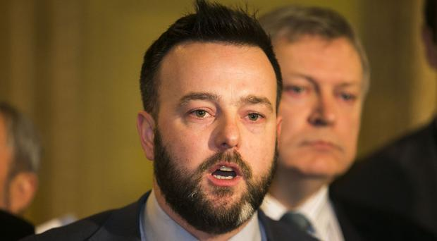 Colum Eastwood urged voters to back the SDLP to help chart a new course for Stormont