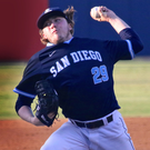 PJ Conlon in action for San Diego