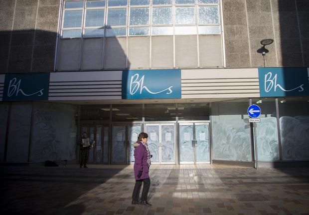 The vacant building where BHS once traded