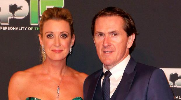 Chanelle and AP McCoy