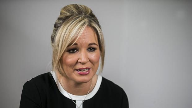 Michelle O'Neill said she wanted to see a return of devolved institutions that delivered for all citizens