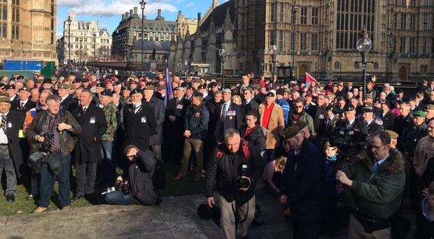 Last month an estimated 1,000 British Army veterans took part in a march in London to highlight concerns over the prosecution of former soldiers for killings which occurred during the Troubles