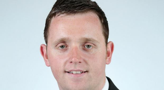 Gary Middleton of the DUP