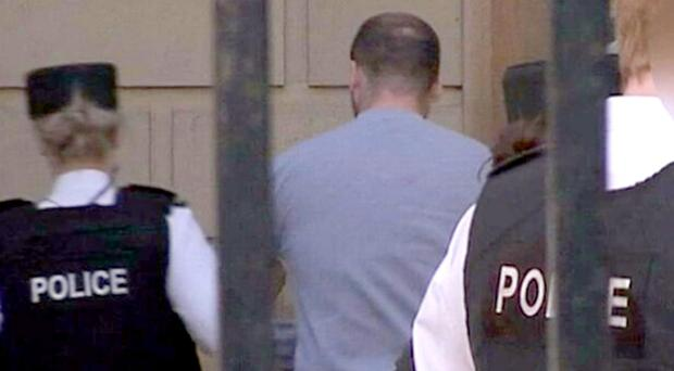 Aaron Hyland and at an earlier court appearance