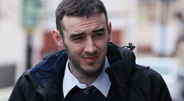 Eamon Bradley has been found not guilty of possessing explosives