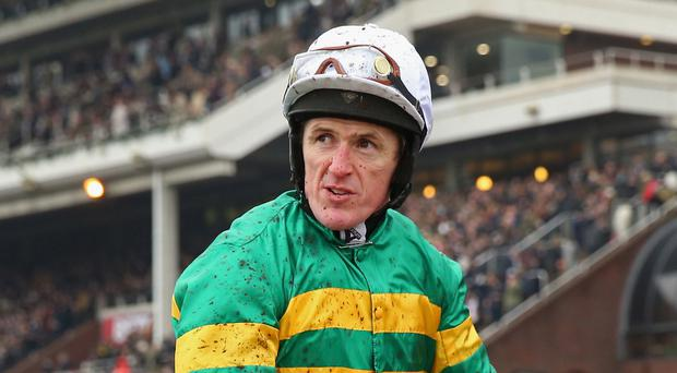 Former jockey Tony McCoy at the Cheltenham Festival. The racecourse is to unveil a statue in his honour