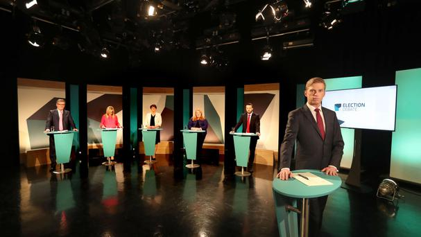 The main party leaders clashed in a head-to-head debate