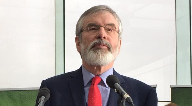 Gerry Adams said the refusal to back widespread calls to negotiate a special status post-Brexit is a