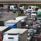 Congestion on the M6.