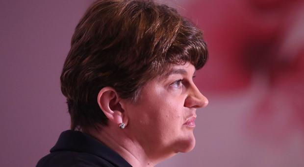 Arlene Foster launches the Democratic Unionist Party's manifesto in Belfast