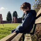 Soaring numbers of children are being treated for anxiety disorders across Northern Ireland, an expert has revealed. File image posed by model