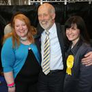 Alliance Party's David Ford, Naomi Long and Paula Bradshaw