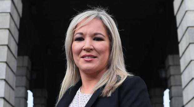 Mrs O'Neill said the DUP and Sinn Fein's differences were 'not insurmountable'