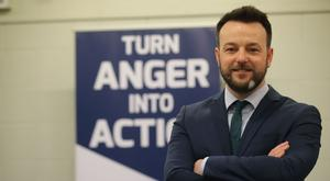 Colum Eastwood insisted devolution could work for the people if they opted for change on March 2