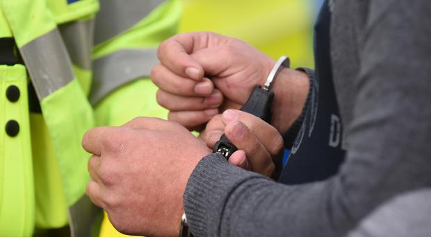 A man has been arrested