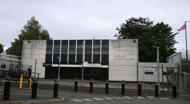 The men appeared at Lisburn Magistrates Court