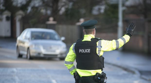 PSNI said a 26-year-old woman and a 27-year-old are in custody