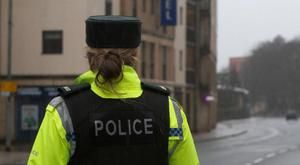 The PSNI said members of the public managed to stop a vehicle and a man fled the scene on foot