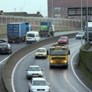 Motorists have reported lengthly delays on the Westlink.
