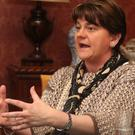Arlene Foster cautioned against a Sinn Fein victory