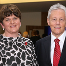 Former First Ministers Arlene Foster and Peter Robinson