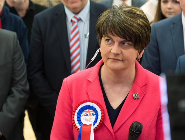 Arlene Foster is elected for Fermanagh and South Tyrone