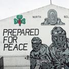 A UVF mural at Mount Vernon in north Belfast