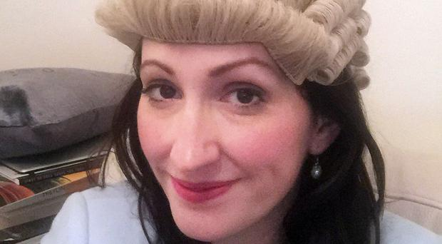 Emma Little Pengelly in her barrister's wig