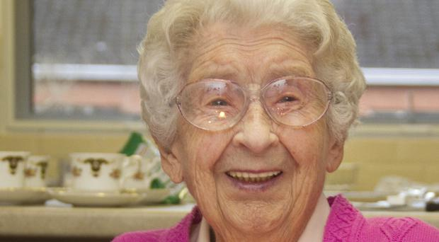 Ellie Lawther turned 108 yesterday