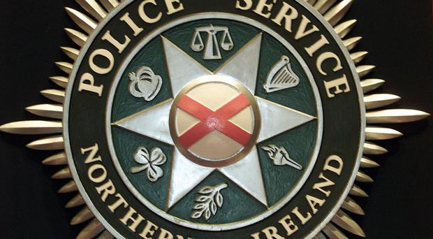 The alleged incident happened in Larne in February 2016 after PSNI officers stopped the man and two others as they were making deliveries