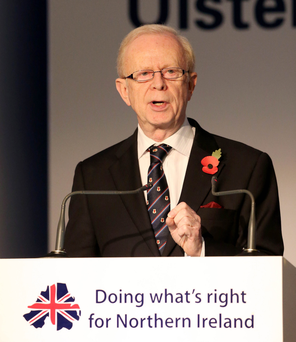 Strong views: Sir Reg Empey