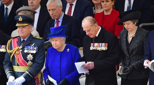 The Queen said it was with 'pride' that the country honoured the contribution of those who served the nation