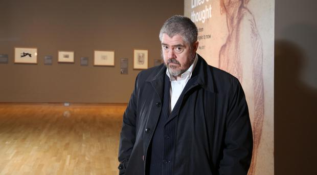 Phill Jupitus at the Ulster Museum