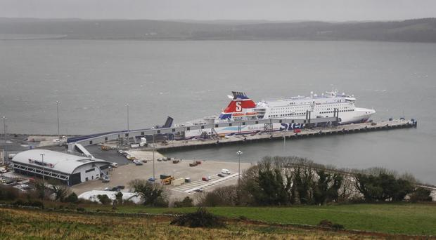 The port of Loch Ryan in Scotland as the threat of terrorists crossing by ferry from Northern Ireland to Scotland is real and substantiated, the former terrorism reviewer David Anderson QC has warned