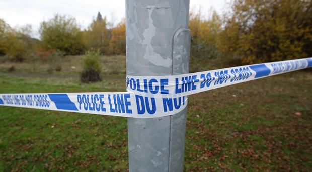 Police recovered human remains in the Lenamore Road area